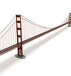 DOSCH 3D: Golden Gate Bridge