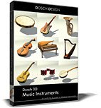 DOSCH 3D: Music Instruments